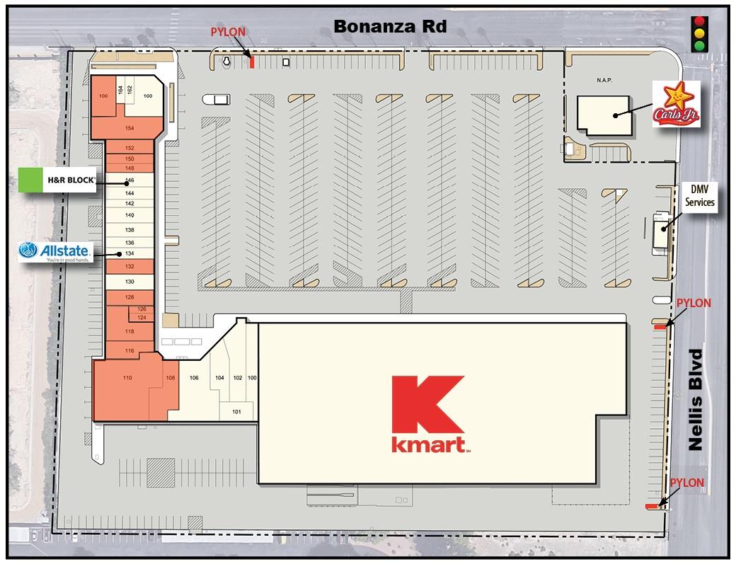 Bonanza Nellis Site Plan